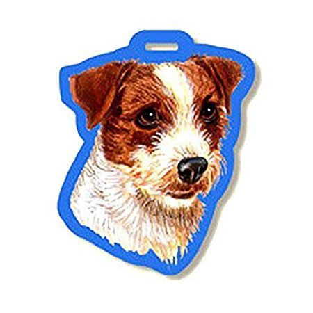 Jack Russell Rough - Westport Luggage Tag Jack Russell Rough Coat