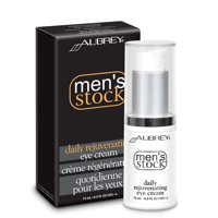 Aubrey Mens Stock Daily Rejuvenating Eye Cream | Helps Smooth Eye Area for Firmer Appearance | Mens Formula | Oat Protein & Rye Seed Extract | .5oz