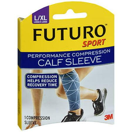 ca6283467c Futuro Sport Performance Compression Calf Sleeve Large/X-Large - 1 Sleeve -  Walmart.com