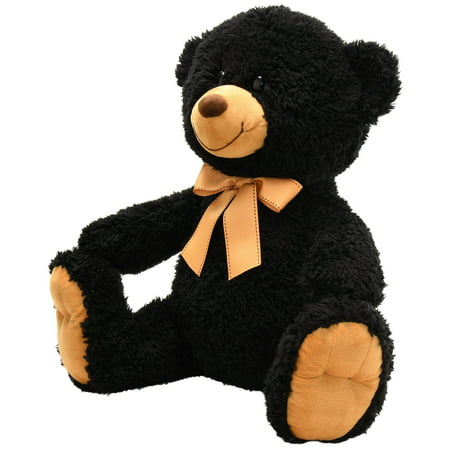 Small Black Bear (Spark. Create. Imagine Plush Large Teddy Bear,)