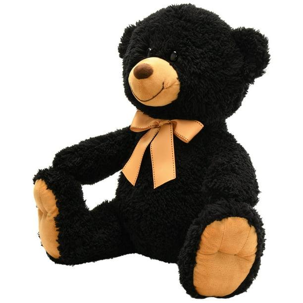 Baby Net For Stuffed Animals, Spark Create Imagine Plush Large Teddy Bear Black Walmart Com Walmart Com