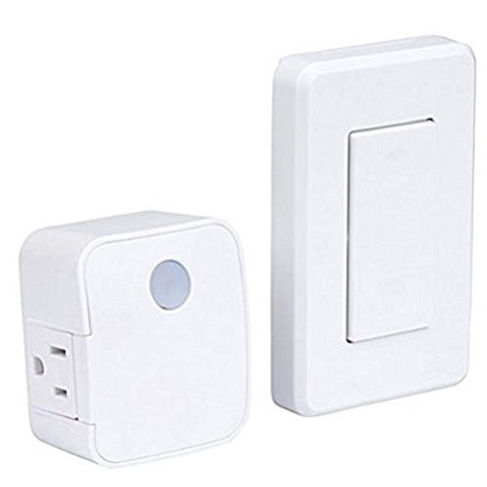 Indoor Wireless Wall Outlet Switch With Remote Operation