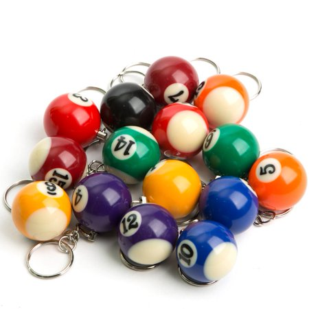 - Billiard Ball Keychain