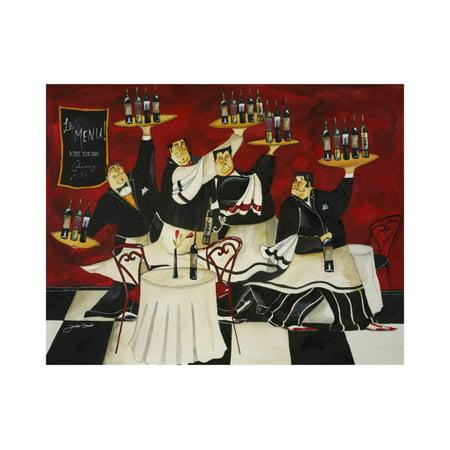 Wine Service Print Wall Art By Jennifer - Jennifer Garant Wine