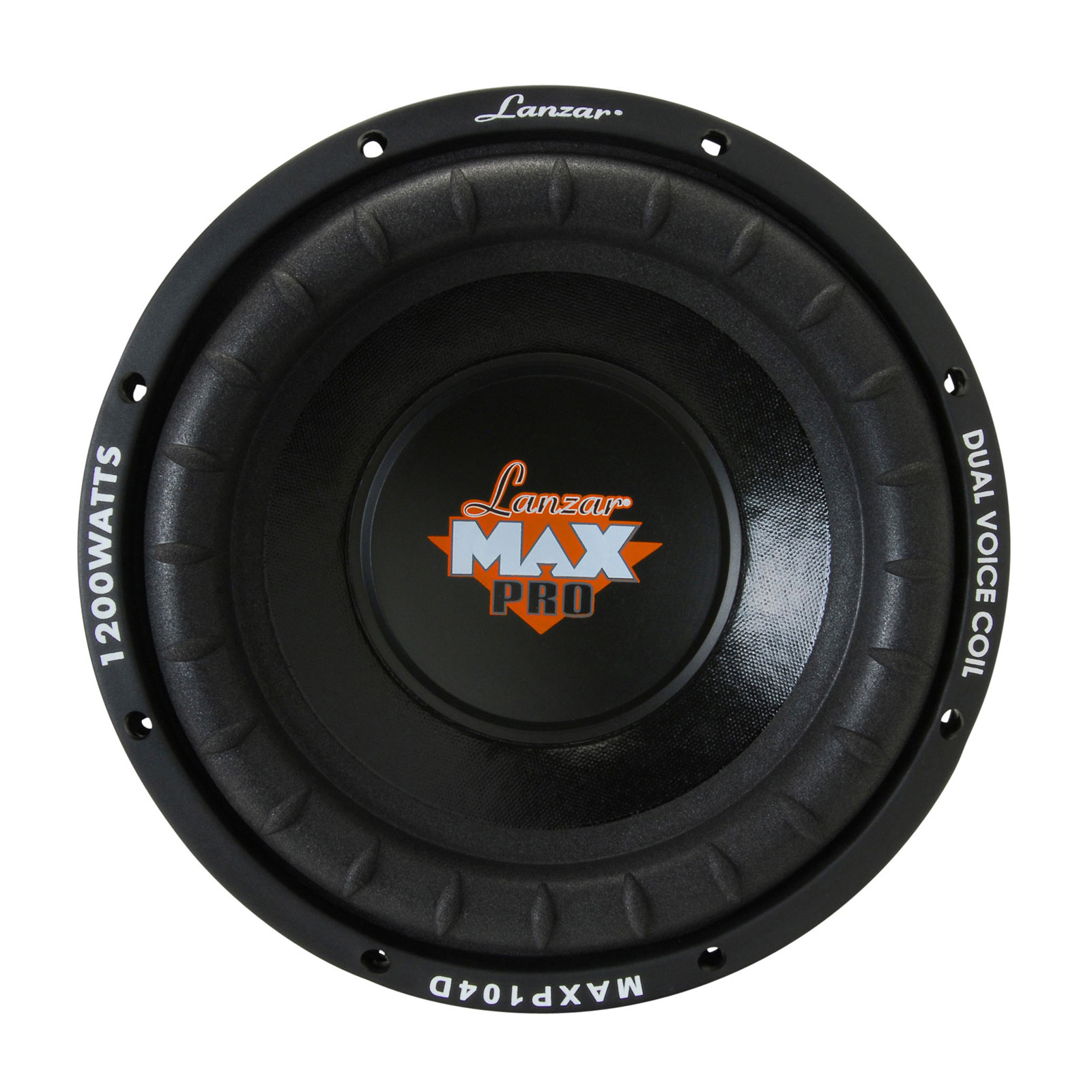 "Lanzar Max Pro 10"" 1200 Watt Small Enclosure Dual 4 Ohm Subwoofer"