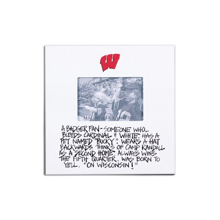 University of Wisconsin Definition of a Fan Picture Frame](Halloween University Of Wisconsin)