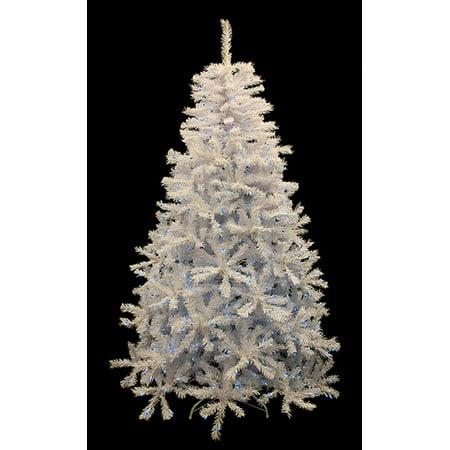 6 5 Pre Lit White Cedar Pine Artificial Christmas Tree