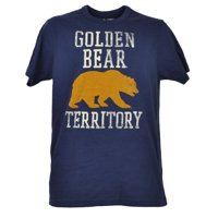 NCAA California Golden Bears Cal Navy Tshirt Tee Mens Crew Neck Short Sleeve XL