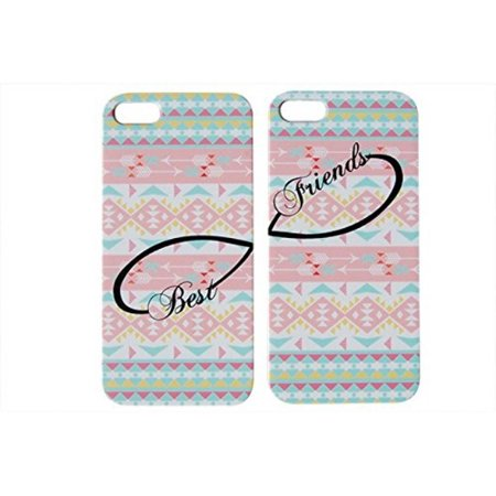 Set Of Pastel Aztec Best Friends Phone Cover For The Iphone SE Case For iCandy