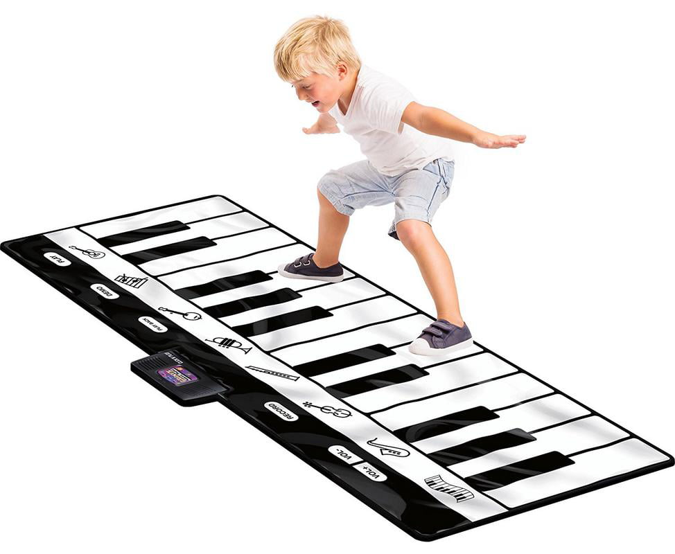 Click N' Play Gigantic Keyboard with 24 Keys, 8 Musical Instruments & Play Record Playback... by Click N' Play