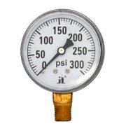 Zenport DPG300 0-300 Psi Dry Air Pressure Gauge