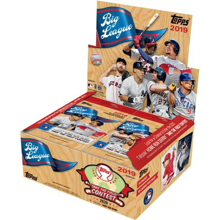 2019 Topps Big League Baseball Retail Edition Factory Sealed 24 Pack Box (Basketball 24 Pack Box)