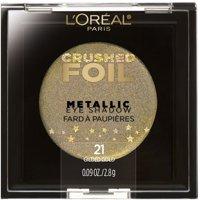 L'Oreal Paris Crushed Foils Metallic Eye Shadow, Gilded Gold