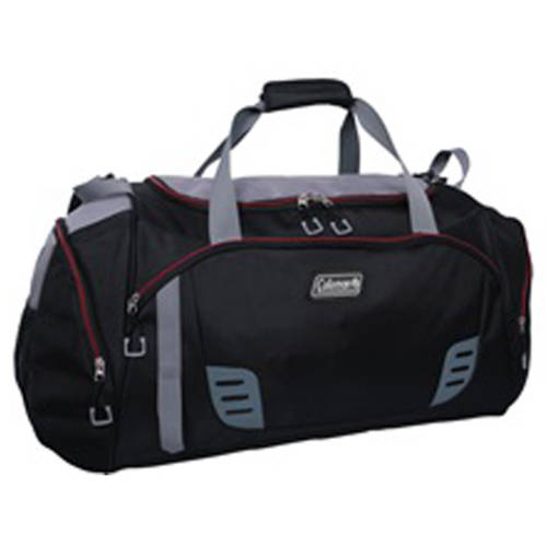 Coleman 28u0022 Duffle, Black with Grey