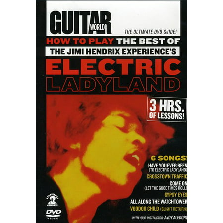 How to Play the Best of Jimi Hendrix Experience's Electric Ladyland (All Along The Watchtower Tab Jimi Hendrix)