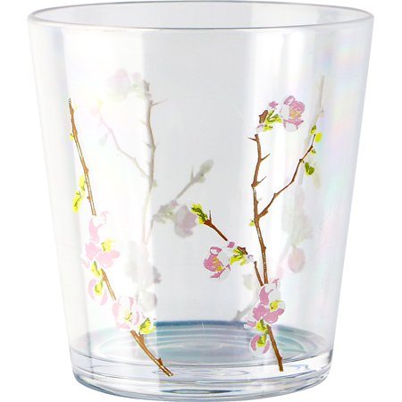 - Corelle Coordinates Cherry Blossom - 14oz Acrylic Water Glass Set of 6