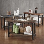 iNSPIRE Q Cyra Industrial Reclaimed Sofa Table TV Stand by  Classic
