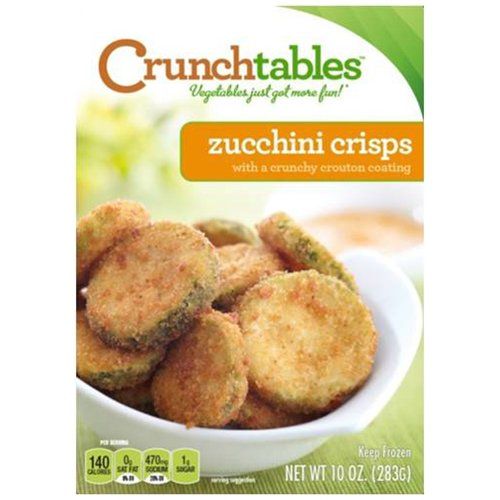 Intevation Food Group Crunchtables Zucchini Crisps 10 Oz Walmart Com Walmart Com