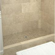 Tile Redi Single Threshold Shower Base with Drain Plate