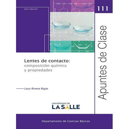 Lentes de contacto: composición química y propiedades - eBook (Lentes De Sol)