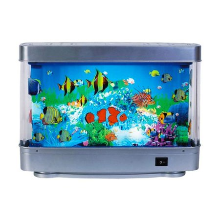 aquarium lamp with fish