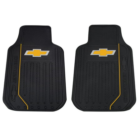Plasticolor Chevy Elite Series Floor Mats Gold Bowtie
