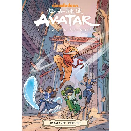 Avatar: The Last Airbender-Imbalance Part One (Paperback) - The Last Halloween Comic