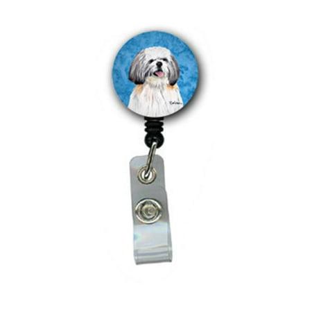 Shih Tzu Retractable Badge Reel Or Id Holder With Clip - image 1 de 1
