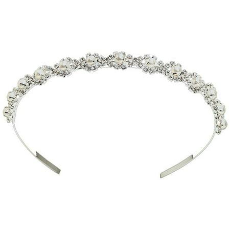 Tiara Headband, Silver