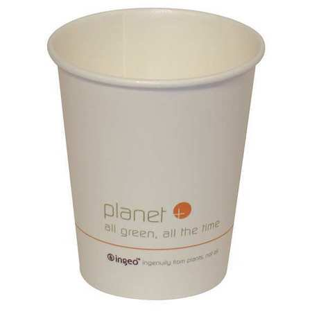 STALKMARKET Disposable Hot cup 8 oz. White, Paper, Pk500, PLC-8-S