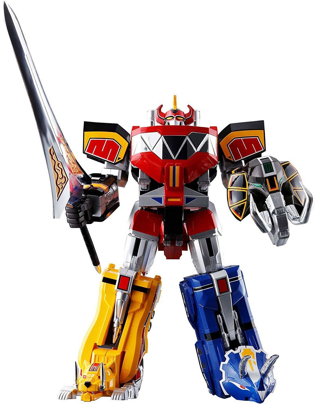 Mighty Morphin Power Rangers Soul of Chogokin GX-72 Megazord Action Figure [Color Version] by Bandai