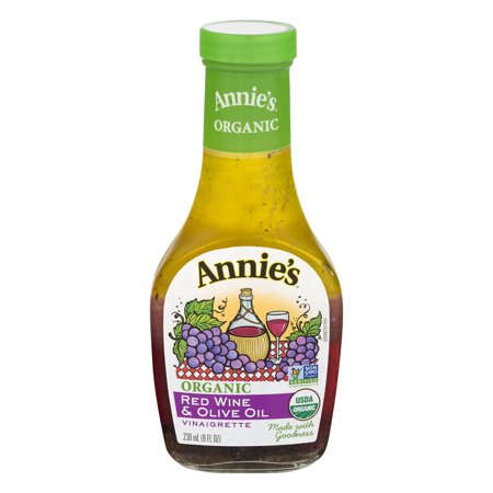 Annie's Organic Red Wine & Olive Oil Vinaigrette, 8 fl