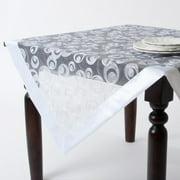 Saro Embroidered Tablecloth