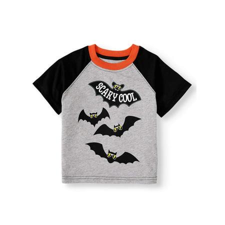 Terraria Halloween Clothes (Halloween Toddler Boy Short Sleeve Raglan Graphic)