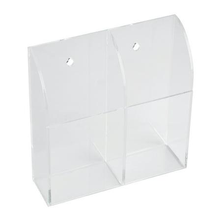 Greensen Acrylic Air Conditioner Remote Control Holder Case Storage Box Wall Mount, Remote Control Box, Remote Control Holder - image 3 de 5