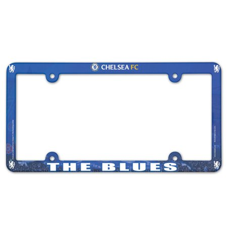 - Chelsea FC Official PREMIER LEAGUE 12 inch x 6 inch  License Plate Frame by WinCraft