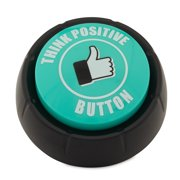Motion Design Think Positive Button Buzzer Gag Gift with Motivational Sounds