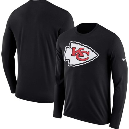 Kansas City Chiefs Nike Fan Gear Primary Logo Long Sleeve Performance T-Shirt -