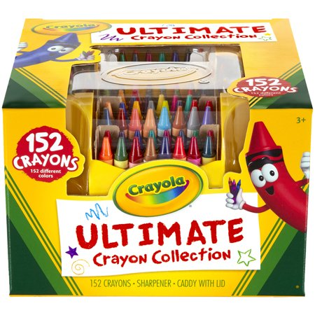 Crayola Ultimate Crayon Collection Art Set, Gift Ages 3+ - 152 Count