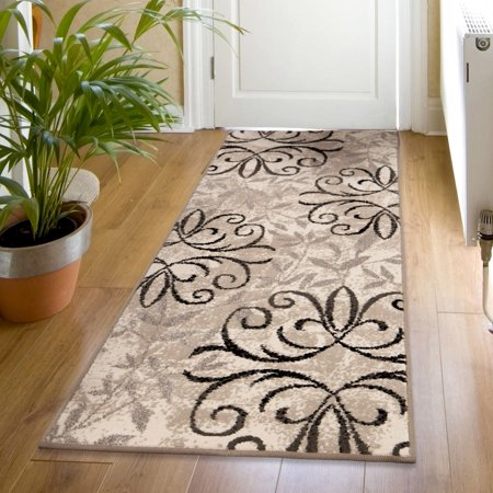 Mainstays leia indoor outdoor area rug multiple sizes - Better homes and gardens iron fleur area rug ...