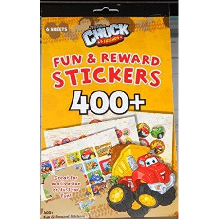 400+ Fun and Reward Stickers Tonka Chuck and Friends ()