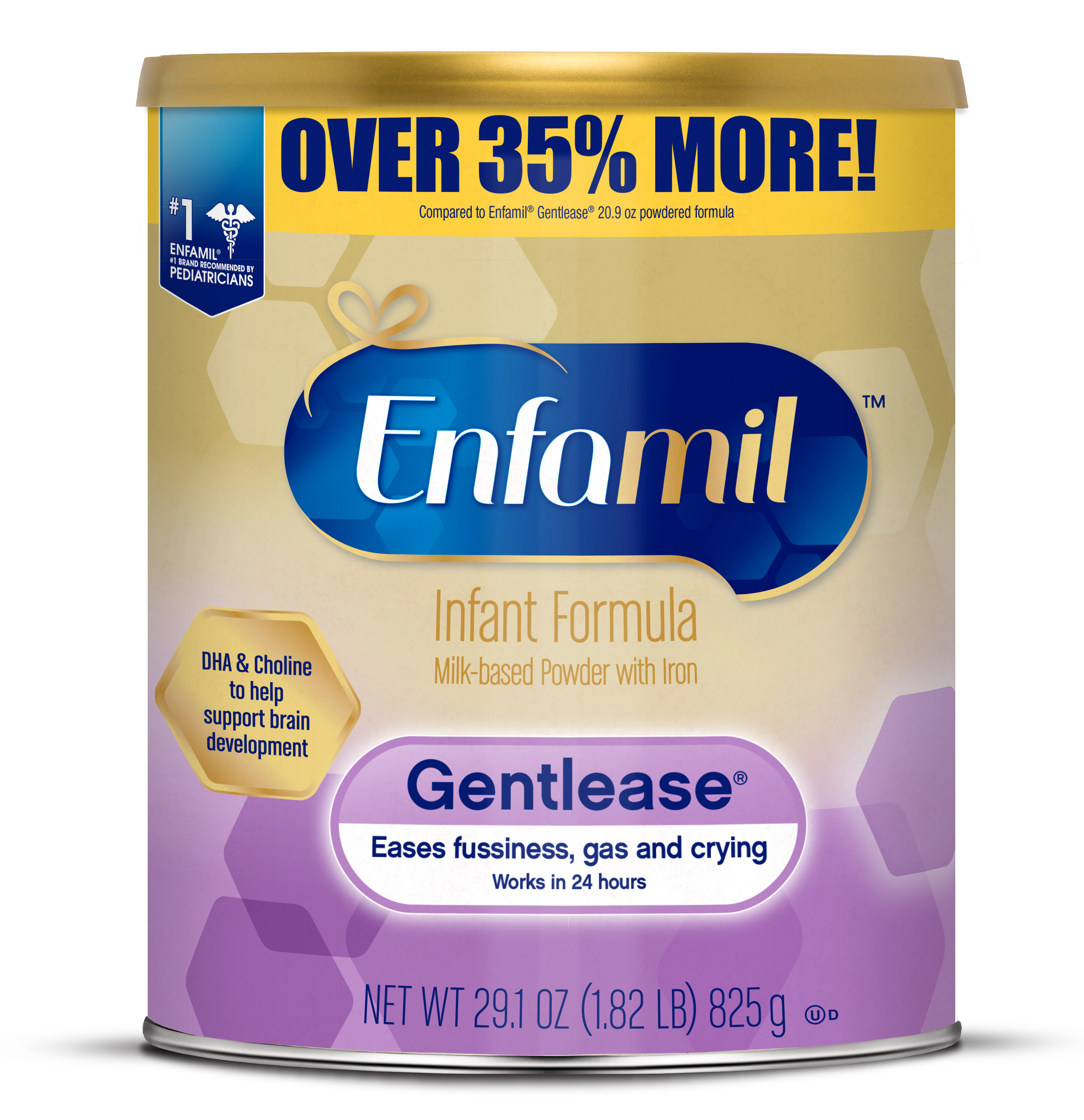 Enfamil Gentlease Powder Can, 29.1 oz.