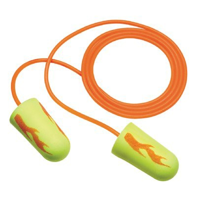 3M Personal Safety Division E-A-Rsoft Yellow Neon Blasts Foam Earplugs - 312-...