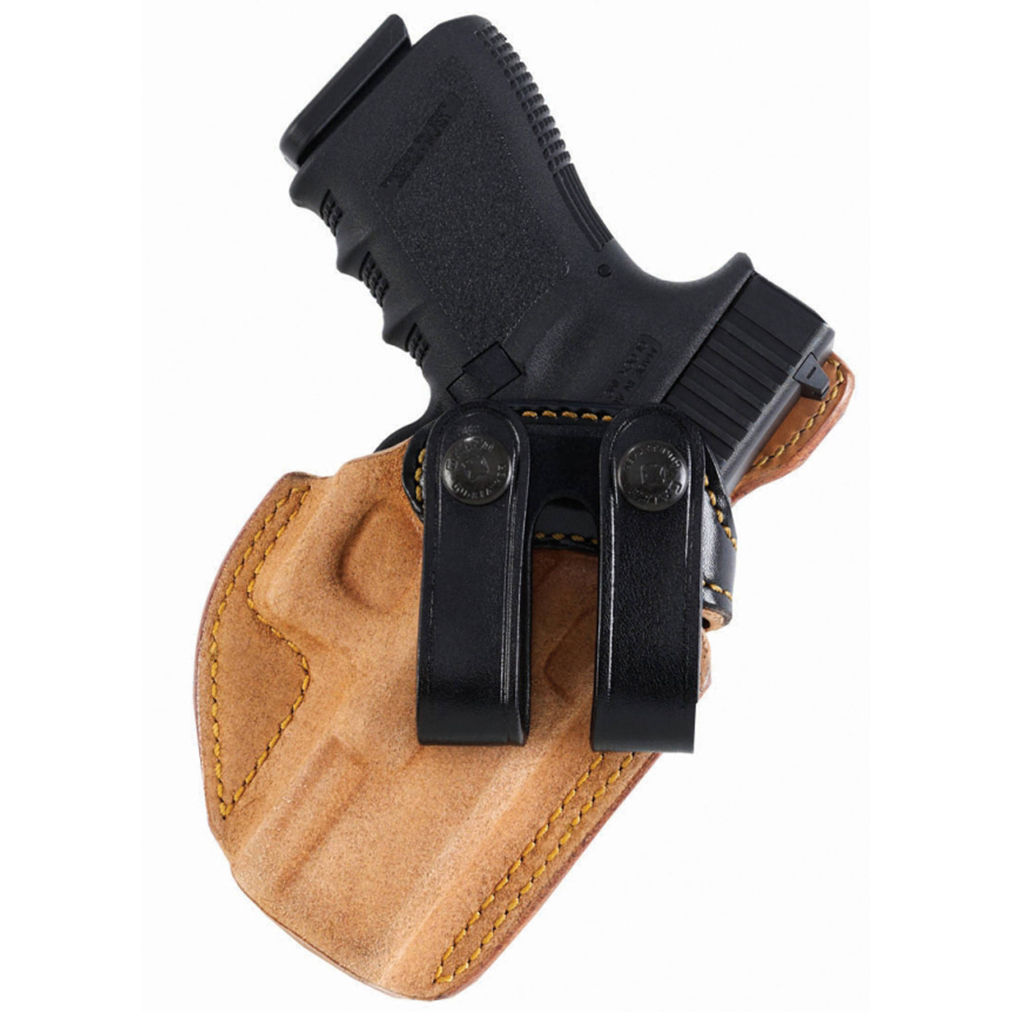 """Galco Royal Guard Holster, Fits Colt Commander with 4.25"""" Barrel, Right Hand, Black Leather by Galco"""