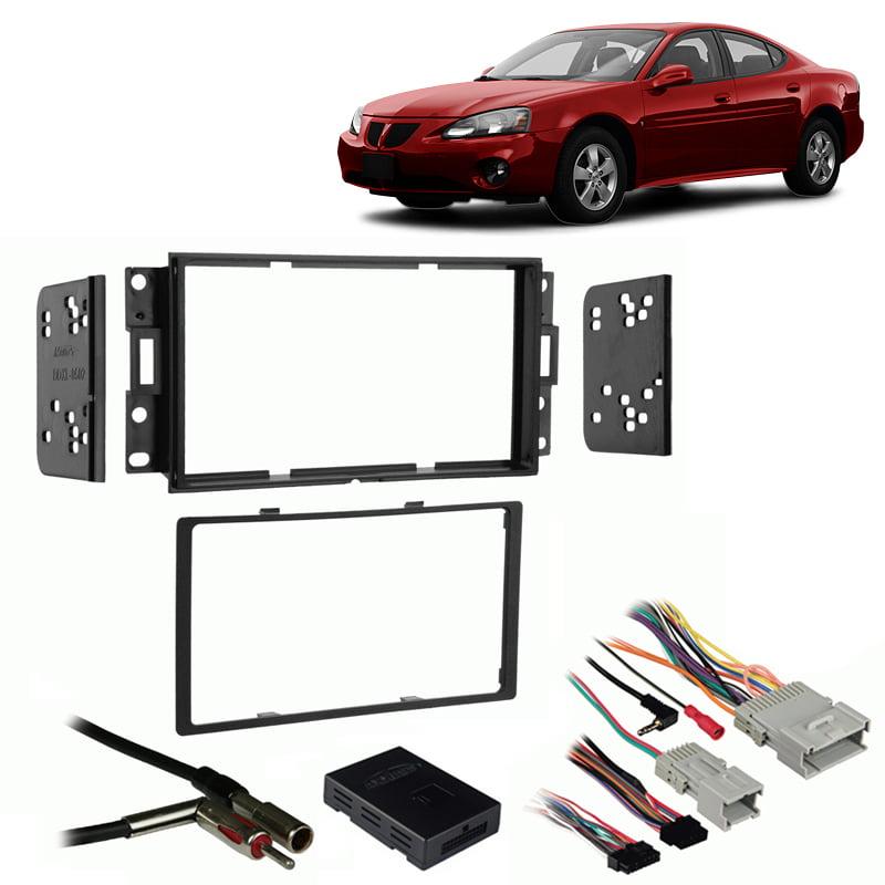 Dash Kit Harness Antenna for 04-08 Pontiac Grand Prix Boss Car Radio Stereo