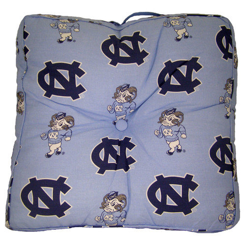 College Covers NCAA North Carolina Floor Pillow