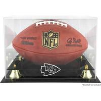 Mounted Memories NFL Classic Football Logo Display Case