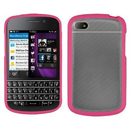 Blackberry Skin Case (PINK CLEAR FROST AQUAFLEX TPU CANDY SKIN CASE COVER FOR BLACKBERRY Q10)