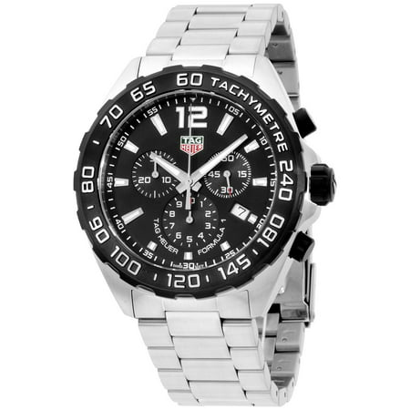 Tag Heuer Formula 1 Black Dial Stainless Steel Men's Watch (Tag Heuer Quartz Wrist Watch)