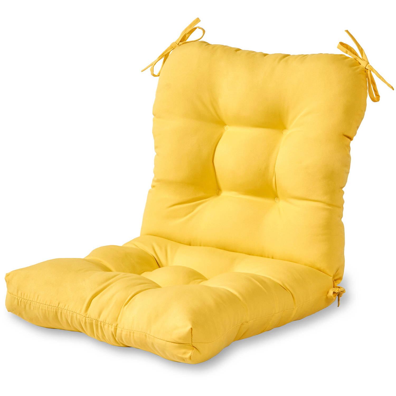 Greendale Home Fashions Outdoor Seat/Back Chair Cushion, Sunbeam